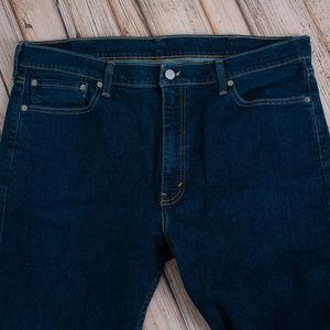 Levi's Jeans - LEVIS slim straigh fit men's dark jeans
